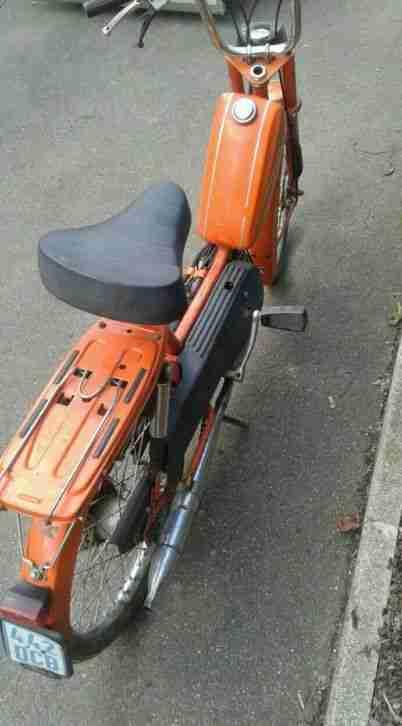 Kreidler Mp2 Moped Scheunenfund