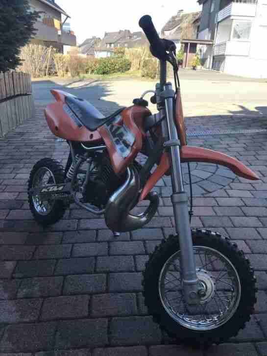 Ktm Sx 50 Junior Komplet mit Ausrüstung