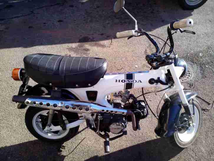 kult bike honda dax st 50 g original aus 1987 bestes. Black Bedroom Furniture Sets. Home Design Ideas