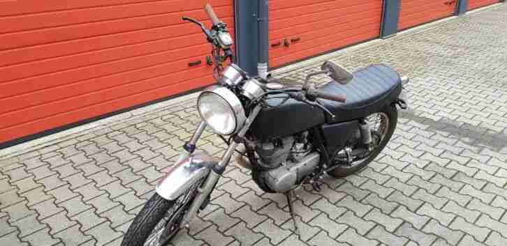 Kultbike YAMAHA SR 500, matching numbers