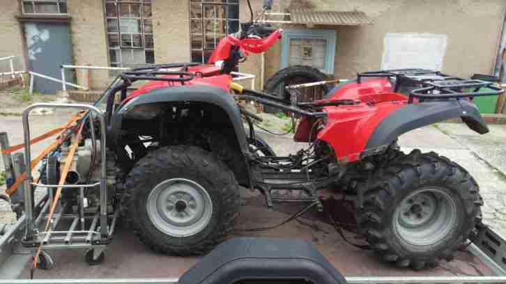 Kymco MXU 500 Bj 2006 in Teilen
