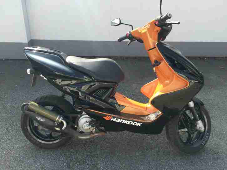 mbk nitro yamaha aerox motorroller 3500km 50ccm bestes. Black Bedroom Furniture Sets. Home Design Ideas