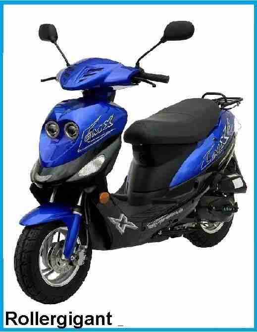 mofa gmx 550s 25km h roller motorroller scooter bestes. Black Bedroom Furniture Sets. Home Design Ideas