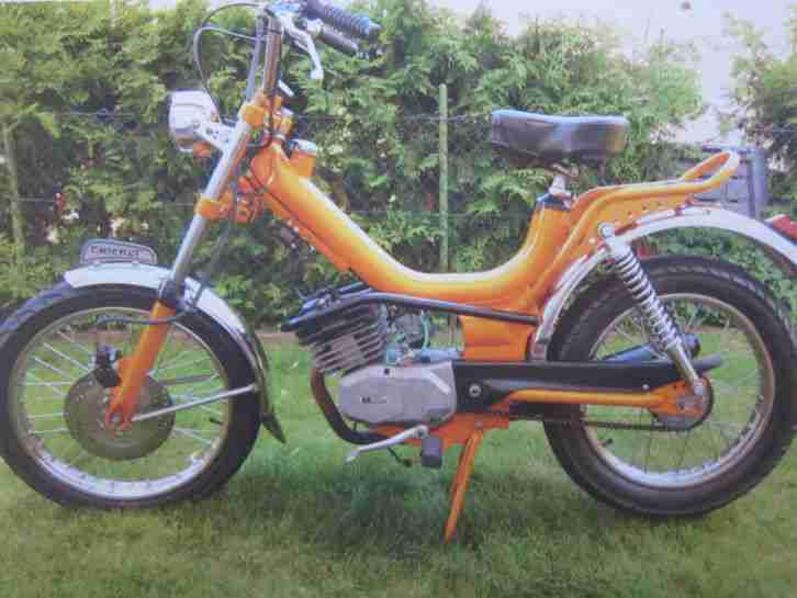 Malaguti Testi Cricket Minarelli Fifty Moped