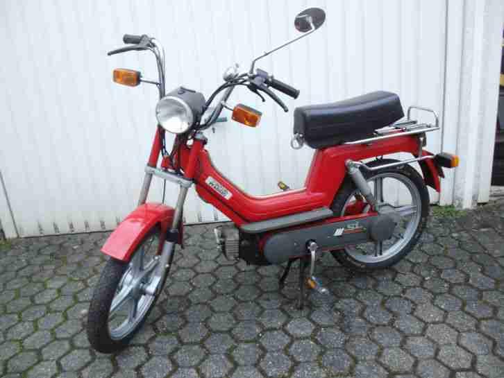 Mofa 25 SI Fahrrad mit Hilfsmotor Piaggio rot Vespa GmbH mit Gusrädern