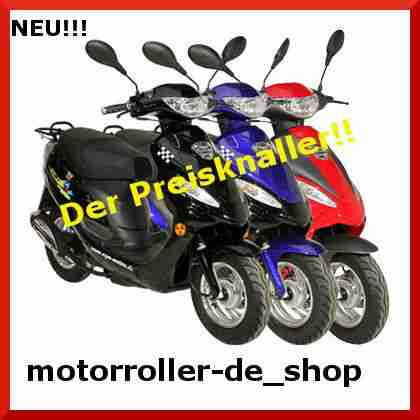 mofa 25 km h gmx 450 agm motors motorroller bestes angebot von roller. Black Bedroom Furniture Sets. Home Design Ideas