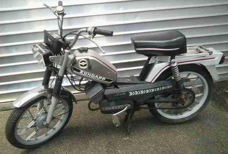 Mofa Zündapp ZS25 80er mit Papieren 3 Gang Moped Kult Cool Retro