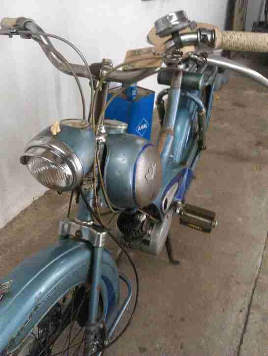 moped 50er oldtimer mofa rixe mit sachs motor bestes angebot von old und youngtimer. Black Bedroom Furniture Sets. Home Design Ideas