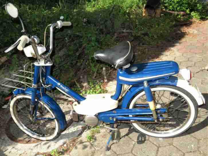 Moped Honda Amigo PF 50 Viertaktmotor kein Gemisch, seltener Oldtimer