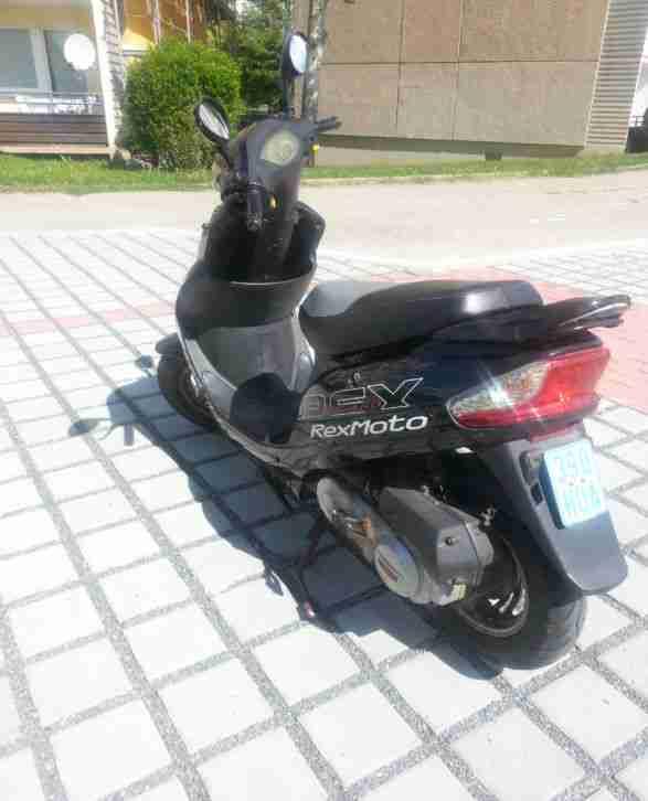 moped roller rexmoto rs 460 4takt bestes angebot von. Black Bedroom Furniture Sets. Home Design Ideas