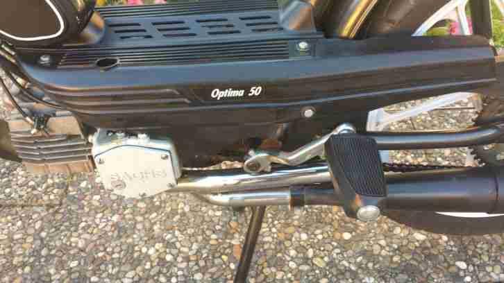 moped sachs optima 50 nur 1400 km 50 km h hercules. Black Bedroom Furniture Sets. Home Design Ideas
