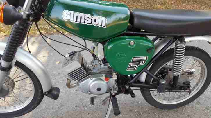 moped simson s51 4gang elektronik bestes angebot von simson. Black Bedroom Furniture Sets. Home Design Ideas