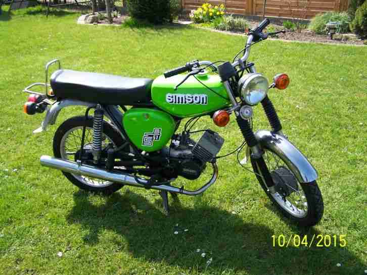 moped simson s51 b2 4 6v bestes angebot von simson