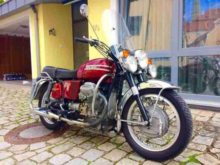 Moto Guzzi 850 GT, 1973 Sammlerzustand original 26000 KM