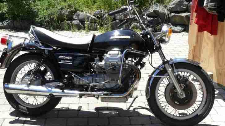 Moto Guzzi 850 T3 California 950 ccm sehr schön läuft wie eine Eins
