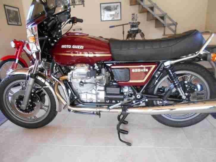 Moto Guzzi 850 T4, restauriert, Top Zustand