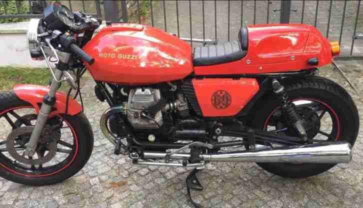Moto Guzzi Café Racer V65 Bobber