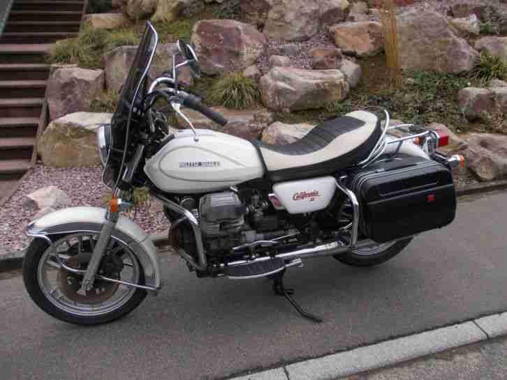 Moto Guzzi Cali II H Gutachten