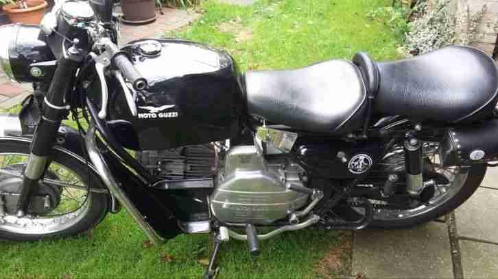Moto Guzzi Falcone 500 Bj 1965 Oldtimer Rare Neuer Service