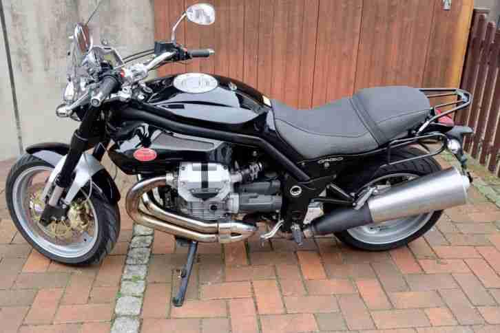 Moto Guzzi Griso 850 mit viel Zubehör