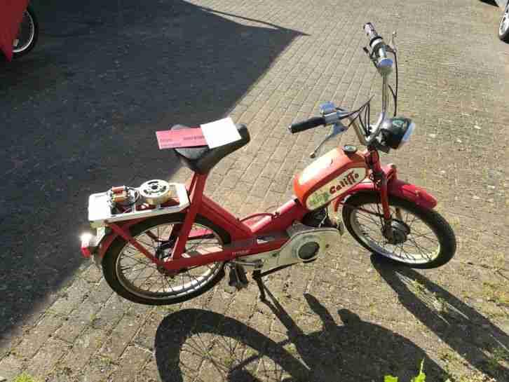 Moto Guzzi Mofa Trotter für Schrauber mit nagelneuer Lichtmaschine und Papieren