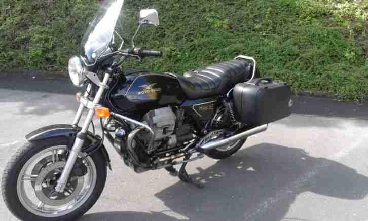 Moto Guzzi NEVADA 750, ACCESSORIATA, BAULI RIGIDI DA VIAGGIO, ENTRA