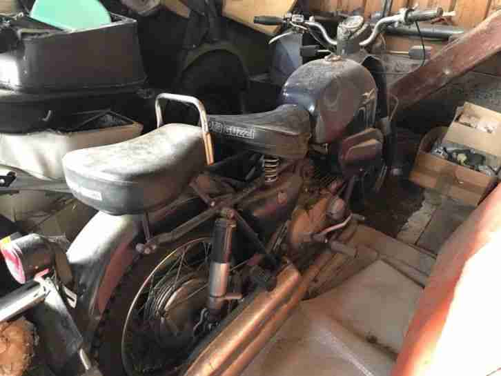 """Moto Guzzi Nuovo Falcone """"Oldtimer"""""""