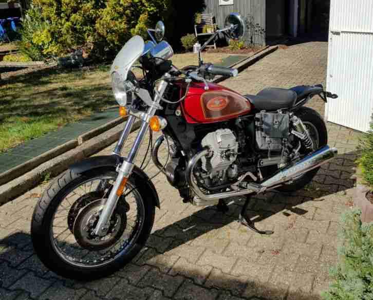 Moto Guzzi Scrambler Roadster 750 ccm