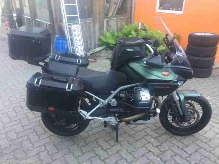 Moto Guzzi Stelvio 8V NTX keine BMW GS Aprillia KTM Ducati Triumph Top gepflegt!