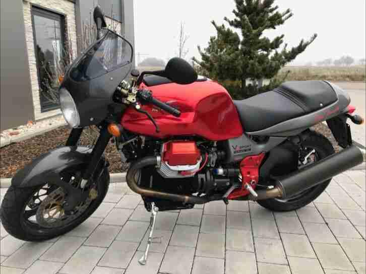 Moto Guzzi V11 Sport Rosso Mandello limitierte Auflage 027 300 Sammlerfahrzeug