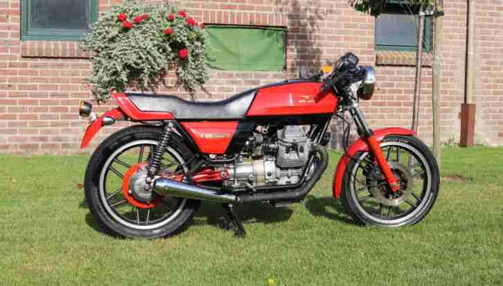 Moto Guzzi V35 350 cc 1982