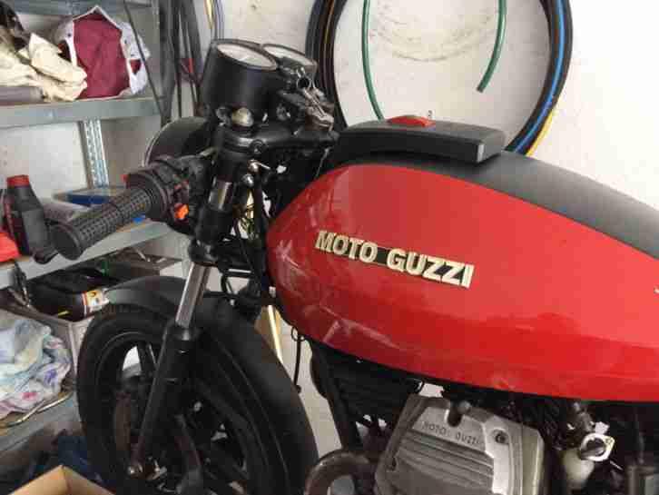 Moto Guzzi V35 Projektaufgabe