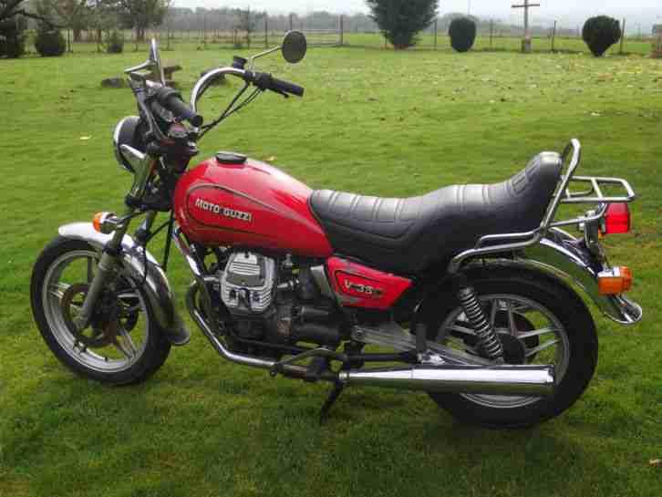 Moto Guzzi V35C Oldtimer V2 Lafranconi