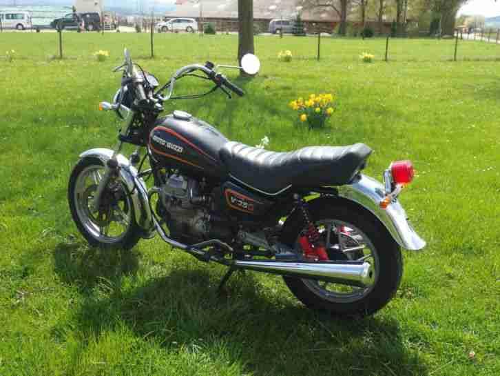 Moto Guzzi V35C nur 19000Km Tüv neu Oldtimer