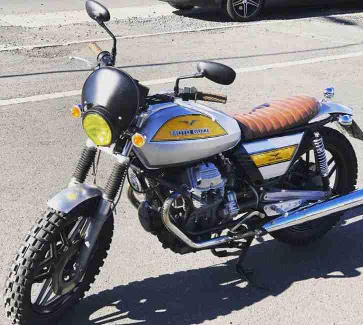 Moto Guzzi V50 ||| 1983 Scrambler