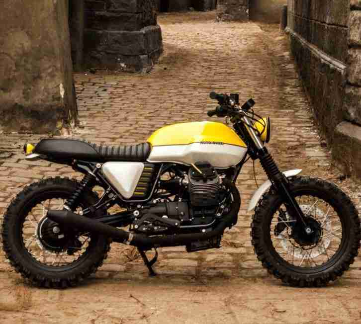 V7 Scrambler Custombike