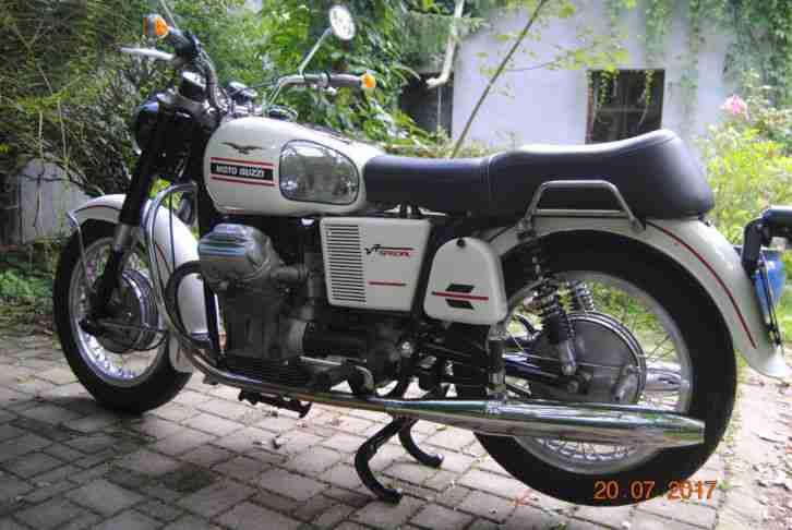 Moto Guzzi V7 Spezial Bj. 70