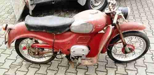 Moto Guzzi Zigolo 98ccm, Standort 20km westlich von Stuttgart