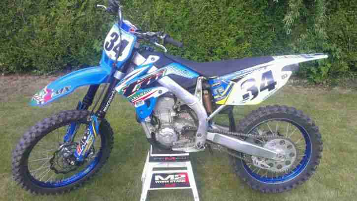 Moto TM Racing mx 450fi