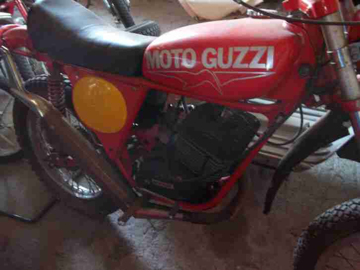 Moto guzzi enduro moped 125 Trail oldtimer