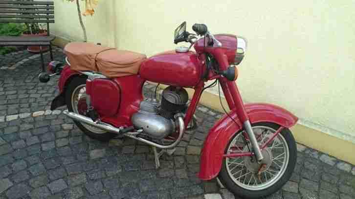 Motorad Java 175 Typ 355 Baujahr 1958 mit Originalen Papieren.