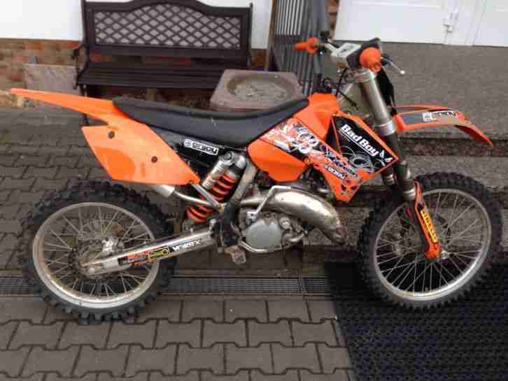Motorcross SX 125 Bj 2005
