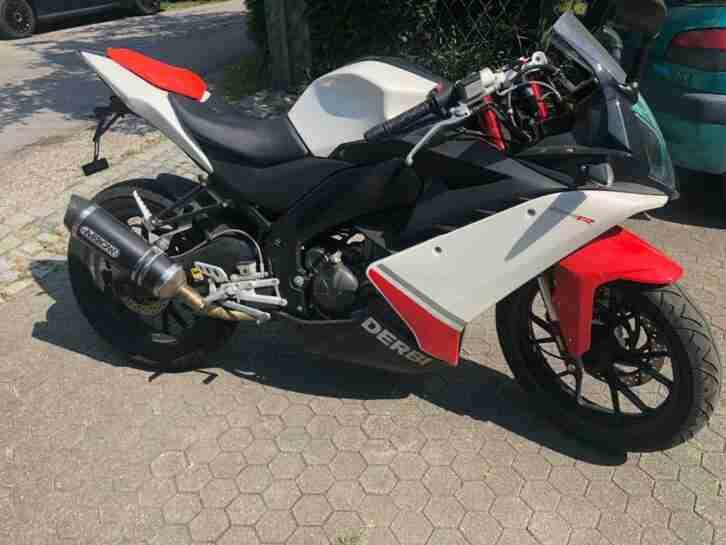 Motorrad 125 ccm, Derbi, GPR