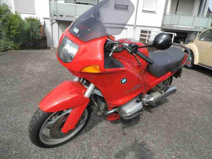 Motorrad BMW R 1100 RS rot TÜV 05 2020
