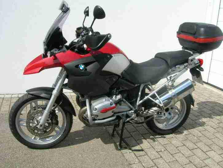 Motorrad BMW R 1200 GS Bj. 2006 rot TÜV neu