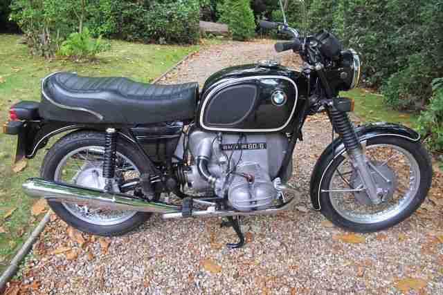 Motorrad BMW R60 6 Oldtimer Kultiger Oldie Winterpreis!