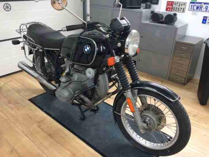 Motorrad BMW R60 7 Oldtimer Kultiger Oldie Winterpreis!