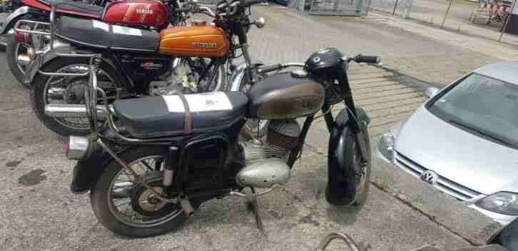 Motorrad CZ 175 Oldtimer