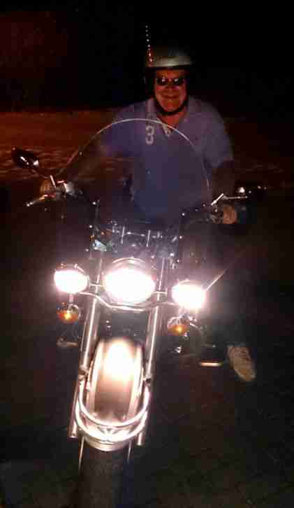 Motorrad Chopper Yamaha Drag Star 1100 Classic
