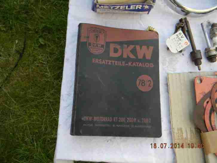 Motorrad DKW RT 200 H